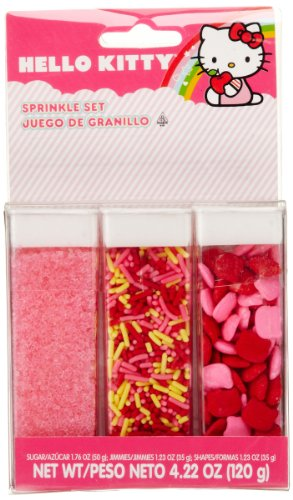 Wilton 710-7576 Hello Kitty Sprinkle Set]()