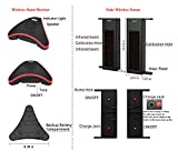 HTZSAFE Solar Wireless Driveway Alarm System- 1/4