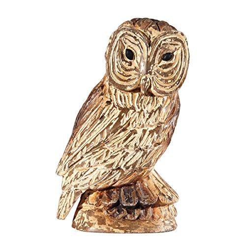 wood carved owl - 9