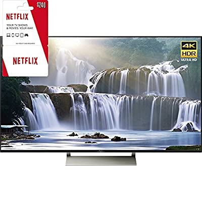 "Sony XBR-75X940E 75"" 4K HDR Ultra HD Smart LED TV 2017 Model with 2 Year Netflix Subscription"