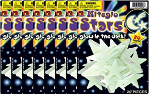 (JA-RU Nite Glo Stars and Moon)