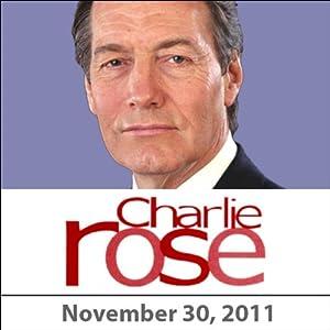 Charlie Rose: Gen. Jim Jones and Antonio Villaraigosa, November 29, 2011 Radio/TV Program