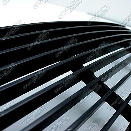 APS Stainless Steel 304 Black Billet Grille Grill Custome Fits 99-02 GMC Sierra//00-06 Yukon Upper #G65704J