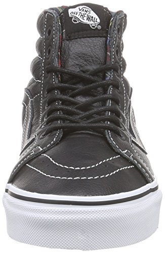 hi plaid Hautes Sk8 black Vans Noir Mixte Sneakers Adulte HR5afwq