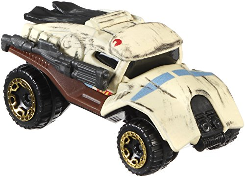 2017 Hot Wheels Character Car Star Wars Rogue One Scarif Stormtrooper Squad Leader