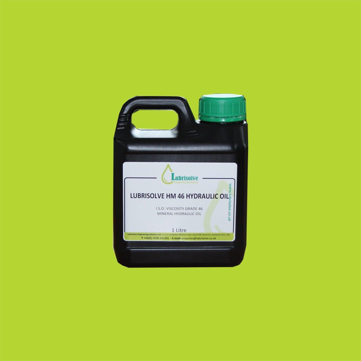 Lubrisolve HM 46 Hydraulic Oil (1 litre)