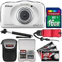 Nikon Coolpix W100 Wi-Fi Shock & Waterproof Digital...