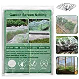 ZeeDix Garden Bug Net Insect Barrier Netting