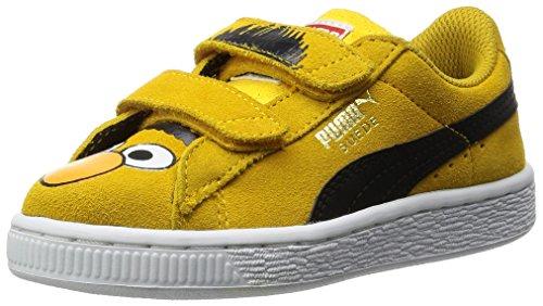 Puma SESAME STREET SUEDE ELMO Wildleder Kinder Sneakers Schuhe Neu Mehrfarbig