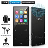 MP3 Player with Bluetooth, 16GB Portable Digital Music Players Support FM Radio Photo