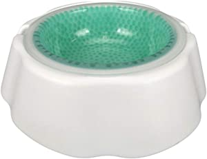 TDL Pet Frosty Bowl - Pet Water Bowl - Frosty Bowl Chilled Pet Water Dish - Keeps Water Cold Up to 8 Hours, 16 Ounces