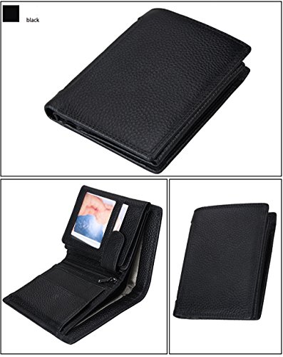 men s wallet gazigo rfid blocking leather wallet for men trifold 3