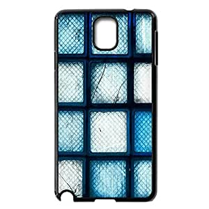 Personalized Case for Samsung Galaxy Note 3,Blue Broken Glass Bricks Custom Hard Case Protector for Samsung Galaxy Note 3 N9000¡ê¡§Black 102201¡ê? by icecream design