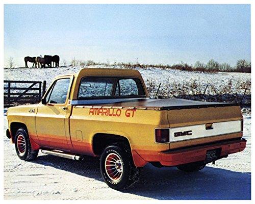 1979 GMC Amarillo GT Cowboy Cadillac Pickup Truck Factory Photo