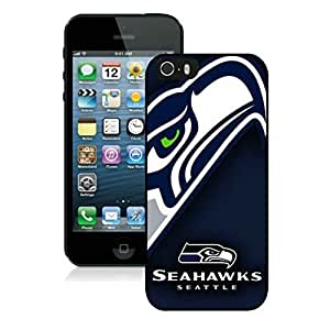 Iphone 5S Protective Skin Case Seattle Seahawks 07_iPhone 5s 5th Generation Black Phone Case Cover 32288