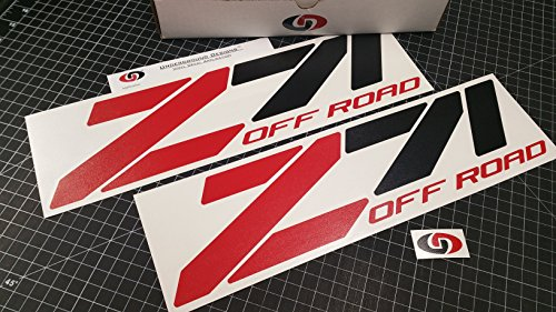 Z71 OFF ROAD Decal Chevy Fender Tailgate Sticker 15