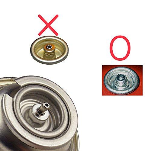 Butane Gas Nozzle Converter - Screw Type Gas/lindal Valve - Import