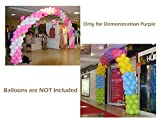 Balloon Arch Kit - 8FT Tall & 18Ft Wide Easy DIY Frame Base and Pole with e-Instruction - for Birthday, Wedding, Events, Party Decoration