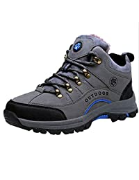 Outdoor Shoes Women's Nylon Leather Walking Hiking Waterproof Cross-Tied Ankle Boots