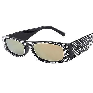 ZHOUYF Gafas de Sol Diamantes De Imitación Gafas De Sol ...