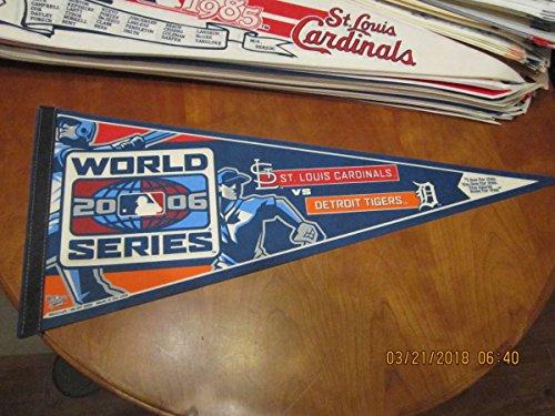 2006 St. Louis Cardinals vs Detroit Tigers World series pennant (Tigers World Series)