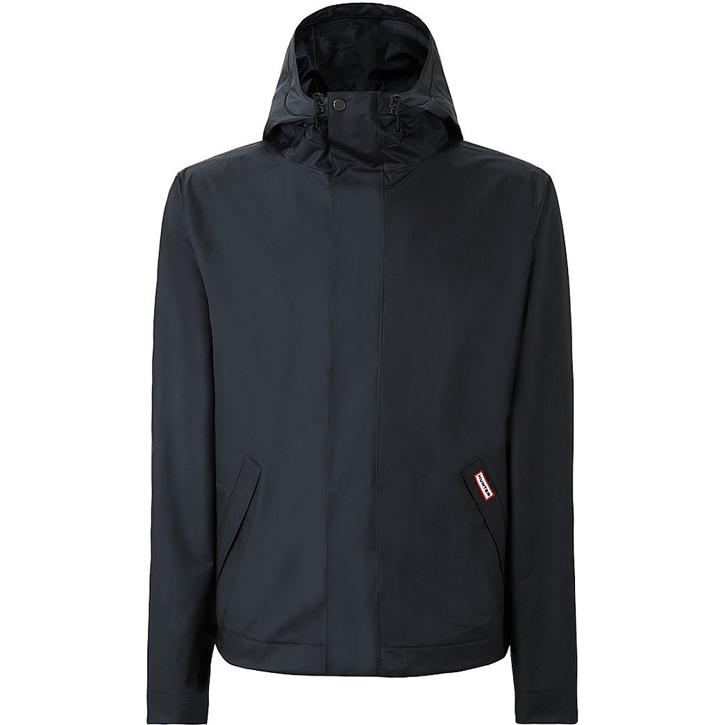 Hunter  Men's Original Vinyl Windcheater Black Outerwear