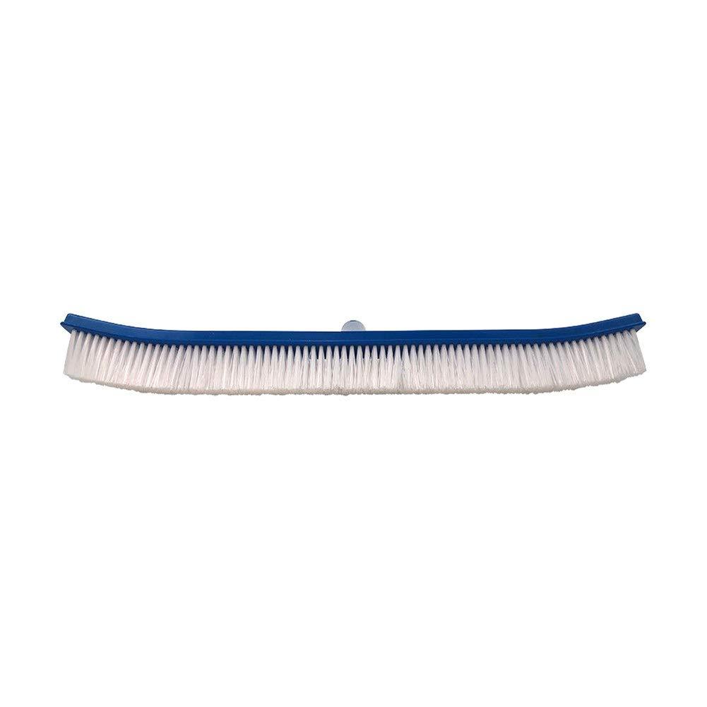 Shoppy Star 45,7 cm Piscina Spa in Nylon Curvo da Parete e Pavimento Spazzola con Manico in PVC Telaio miglior Prezzo  Multi