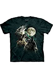 The Mountain Men's Three Wolf Moon Short Sleeve T-Shirt
