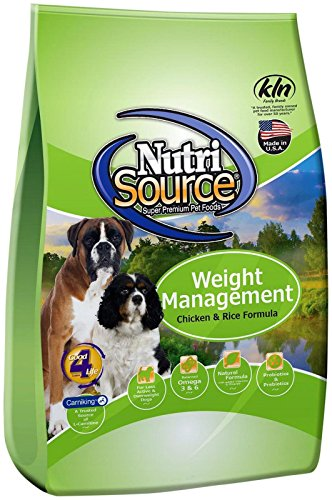 Tuffy's Pet Food 131530 Nutrisource Weight Management Dog Food, 30-Pound