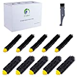 I clean Roomba Replenishment Kits, 10 Packs Brush Accessories Parts Compatible with iRobot Roomba 650 652 690 770 780 790 Vacuum Cleaner (600&700 Series),with A Free Cleaning Brush