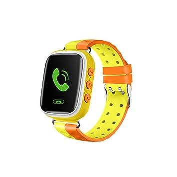 Diadia - Reloj inteligente para niños, reloj de teléfono con cámara GPS Tracker, reloj