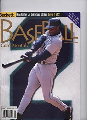 Beckett Baseball Card Monthly Cover 1 And 2 Ken Griffey Jr