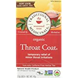 Traditional Medicinals Organic Throat Coat, 20 tea bags