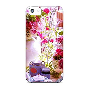 Iphone 5c Case Bumper Tpu Skin Cover For Let's Have Some Spring Tea Accessories