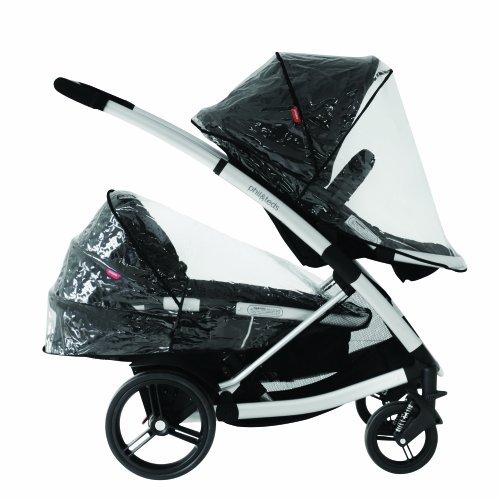 Phil And Teds Double Pram Rain Cover - 8