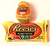 Just in Time to Stuff Those Easter Baskets! It's Reese's Milk Chocolate!1-1.2oz Peanut Butter Creme Egg. 1-1.2oz Peanut Butter Egg. Easter is More Fun with Reese's Milk Chocolate!