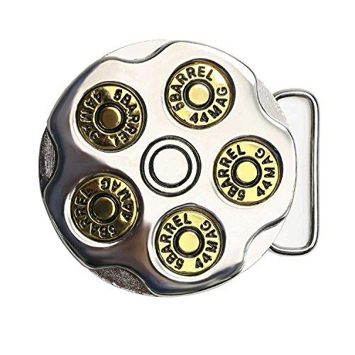 Landisun Handmade Rotate Revolver Belt Buckle