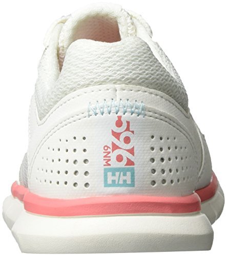 Helly Hansen W Ahiga V3 Hydropower, Scarpe da Fitness Donna Bianco (Off White/Shellpink/B 11)