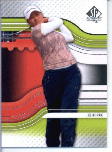 2012 SP Authentic Golf Card IN SCREWDOWN CASE #22 Se Ri Pak ENCASED