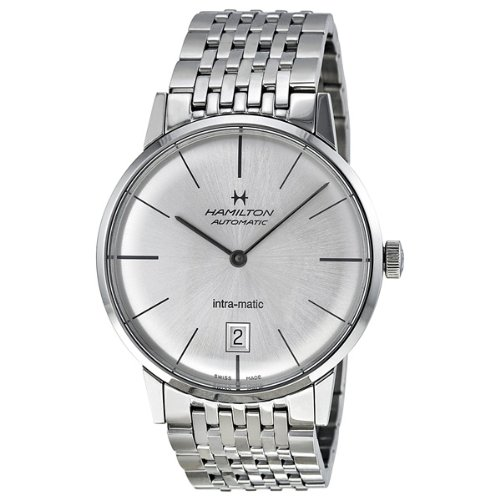 Hamilton Men's H38455151 American Classic Analog Display Swiss Automatic Silver Watch