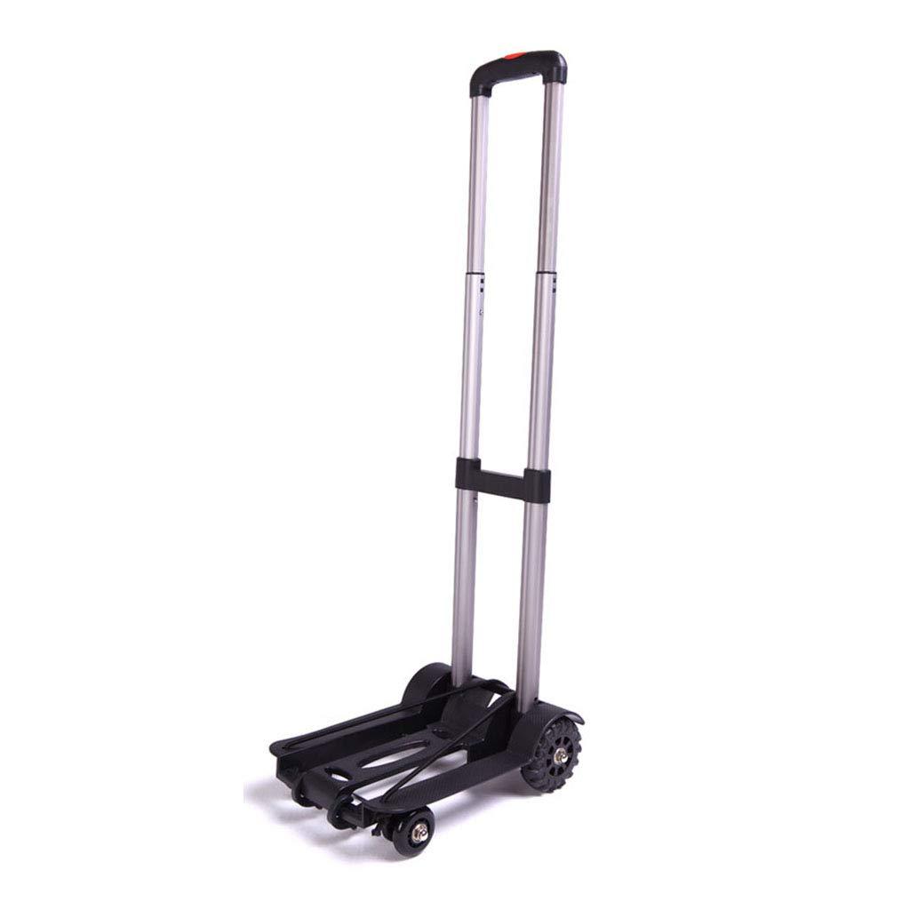 ALUP- 携帯用旅行トレーラーの家の荷物のカートのアルミニウム折る手のカートの買物車の負荷50kg   B07R1KZWSV