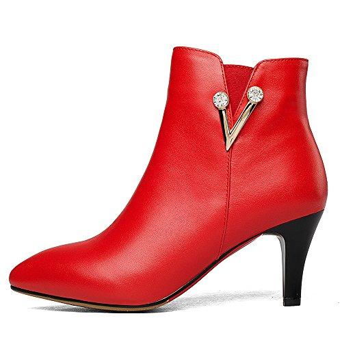 Nine SevenAnkle-boots - Botas mujer Red