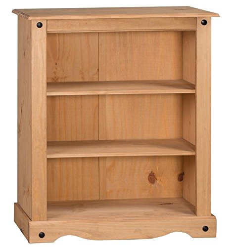 Mercers Furniture Corona Small Low Bookcase