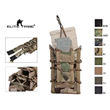 Airsoft Hunting Single Rifle Pistol Molle Magazine Pouch Double Decker Magazine Pouch M4