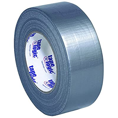 "Tape Logic T98785S 9.0 Mil Duct Tape, 2"" x 60 yd, Silver (Pack of 24) by Tape Logic"