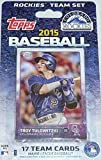 2015 Topps Colorado Rockies Factory Sealed Special Edition 17 Card Team Set with Carlos Gonzalez Plus