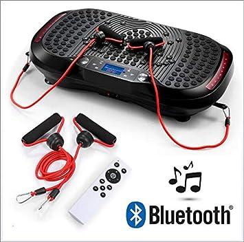 SVNA Plataforma vibratoria Máquina vibradora de Ejercicios Bluetooth ...