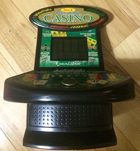 Excalibur Deluxe Virtual Casino 5-in-1 Video Game
