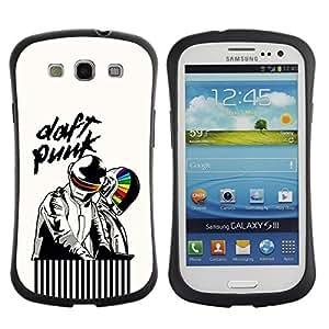 "Hypernova Slim Fit Dual Barniz Protector Caso Case Funda Para SAMSUNG Galaxy S3 III / i9300 / i747 [Artistas Daft""]"