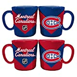 Memory Company NHL Montreal Canadiens Chevron Salt & Pepper Shaker Mugs, One Size, Multicolor